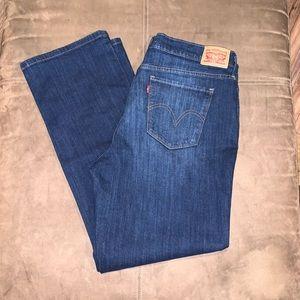 Women's Levi Jeans 505 Straight Size 33